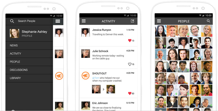 Announcing: Jostle Intranet Android Experience