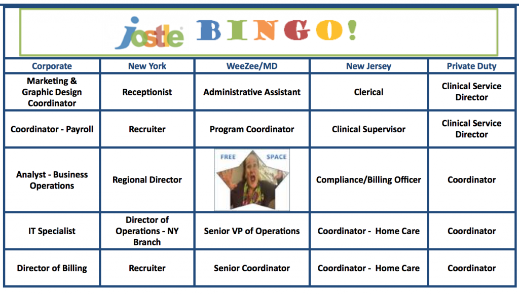 access health bingo