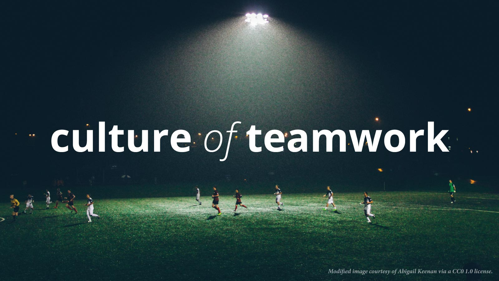 ways to create a culture of teamwork in the workplace