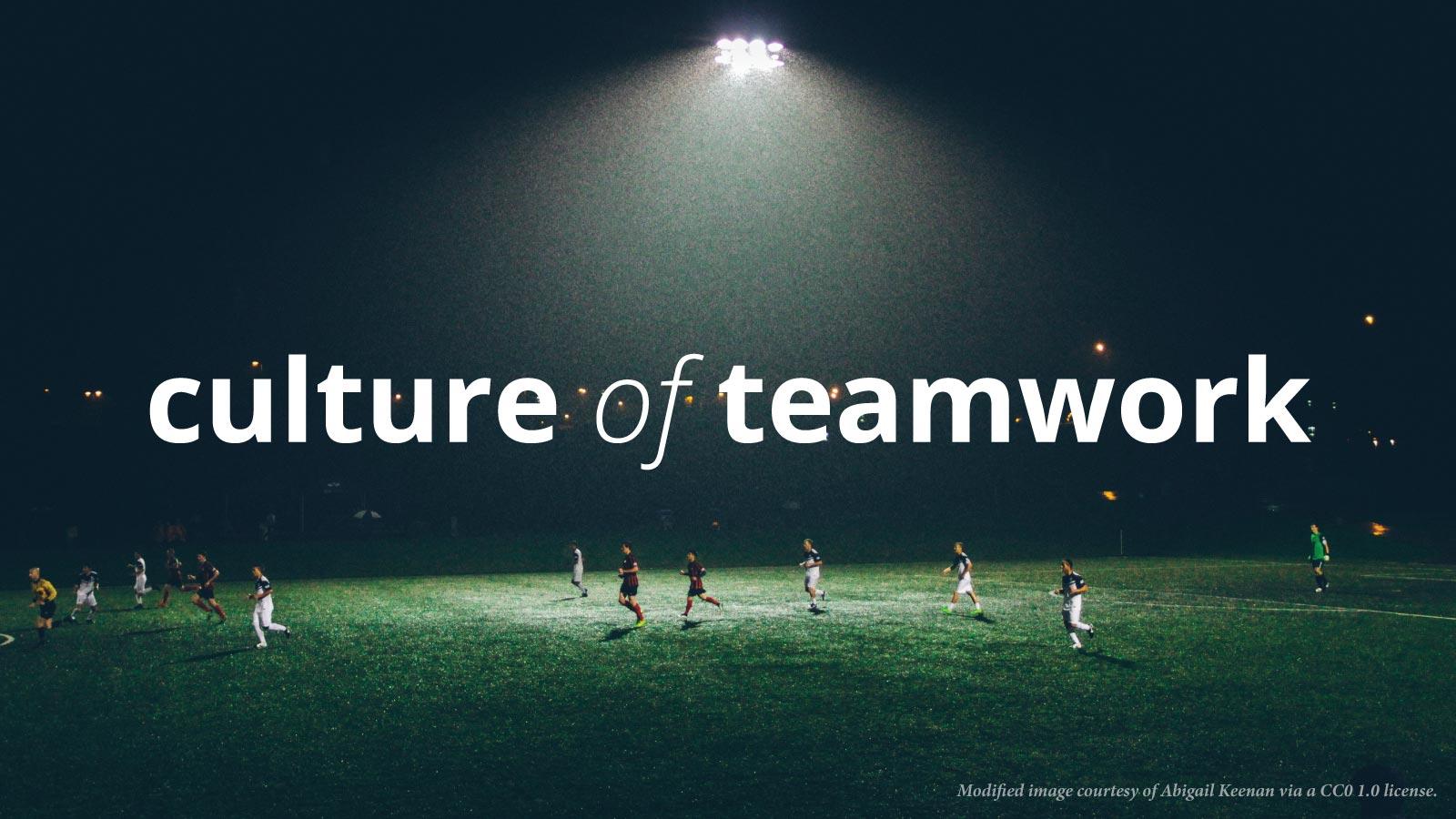 describe teamwork experience
