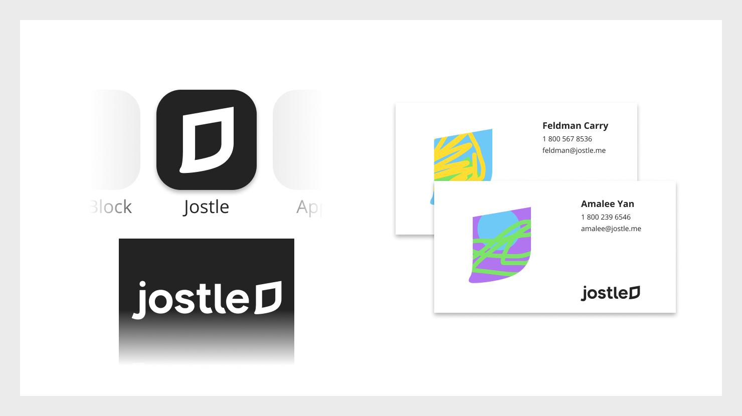 jostle rebrand logo assets