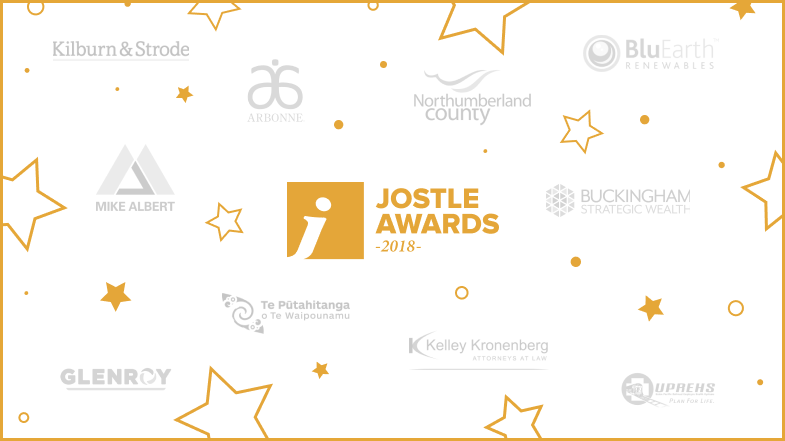 Drum roll please… Jostle Awards 2018 winners revealed!