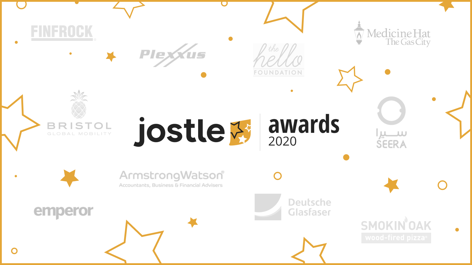 Confetti time: Celebrating our 2020 Jostle Awards Winners!