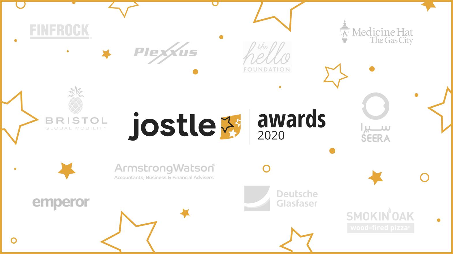 Confetti time: Celebrating our 2020 Jostle Awards Winners!