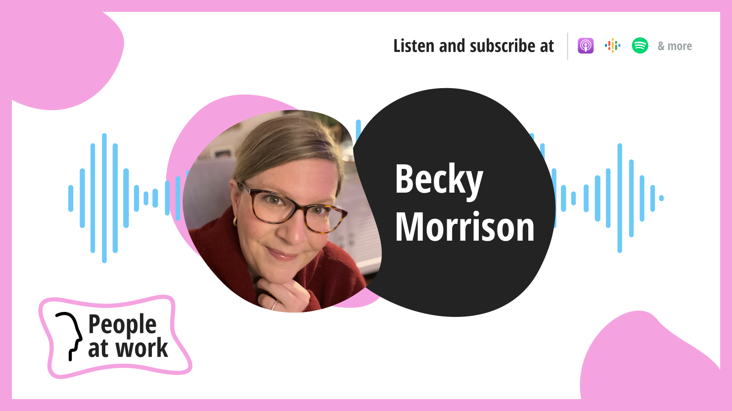 There's a recipe for happiness with Becky Morrison