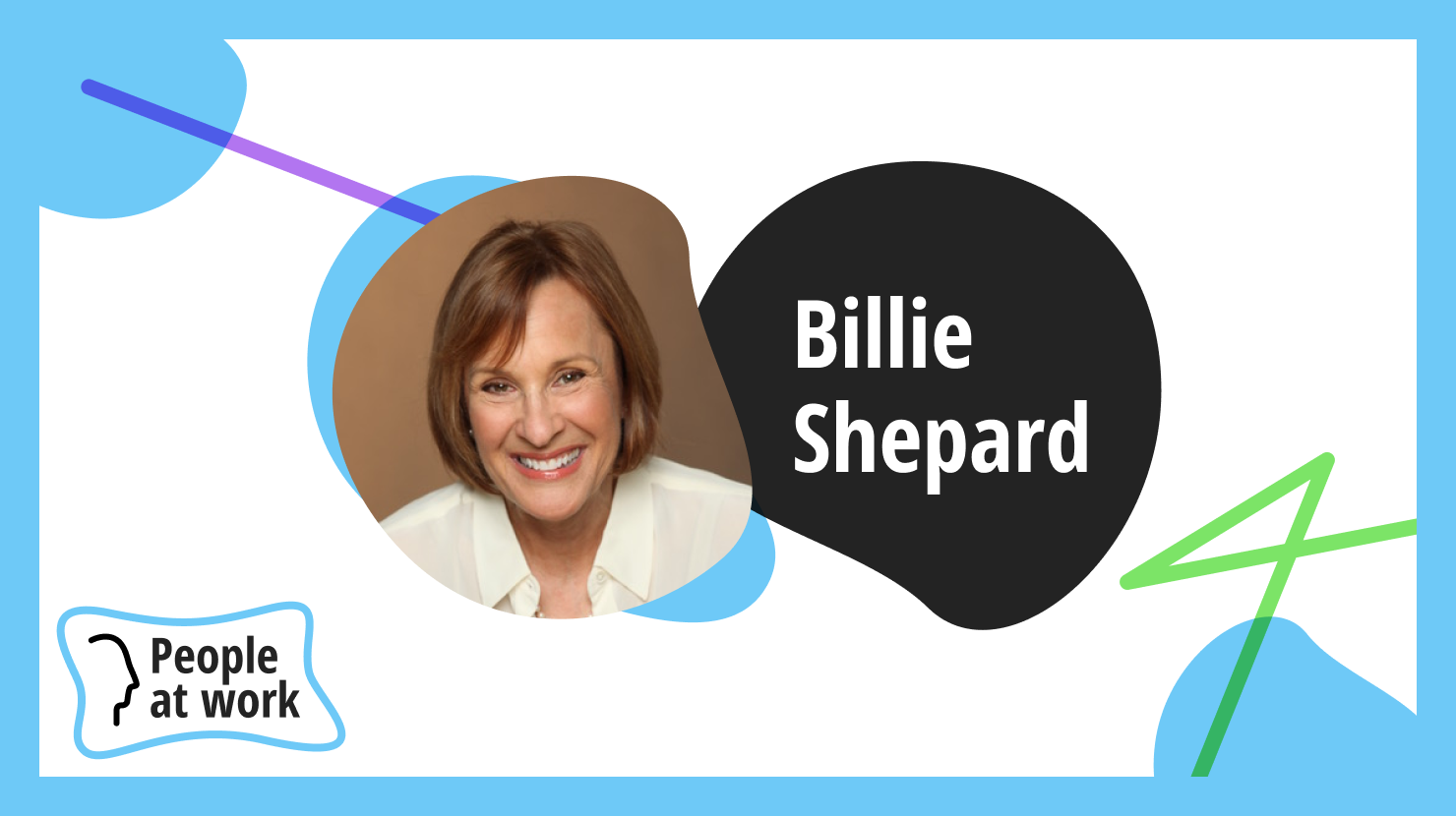 Banish fear of speaking with intention says Billie Shepard