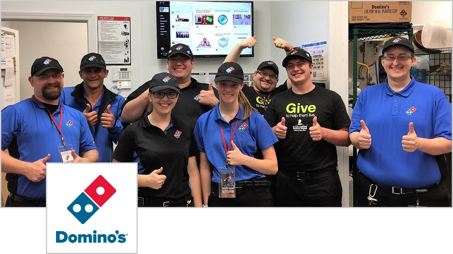 Domino's Pizza franchise reduces business costs with effective intranet