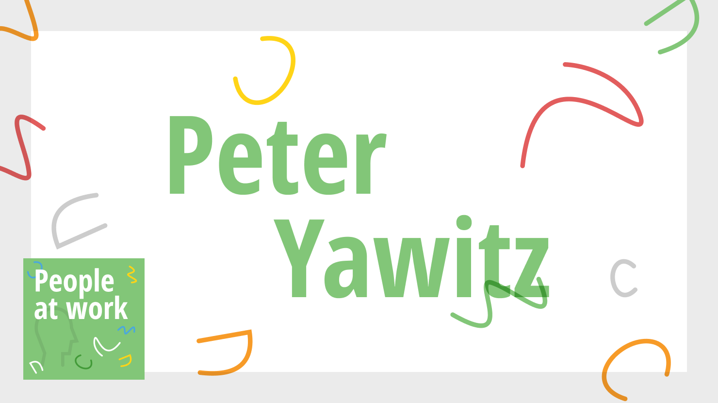 More than flips flops at work with Peter Yawitz