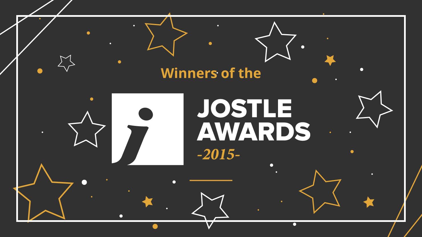 Jostle Awards 2015 Winners revealed!