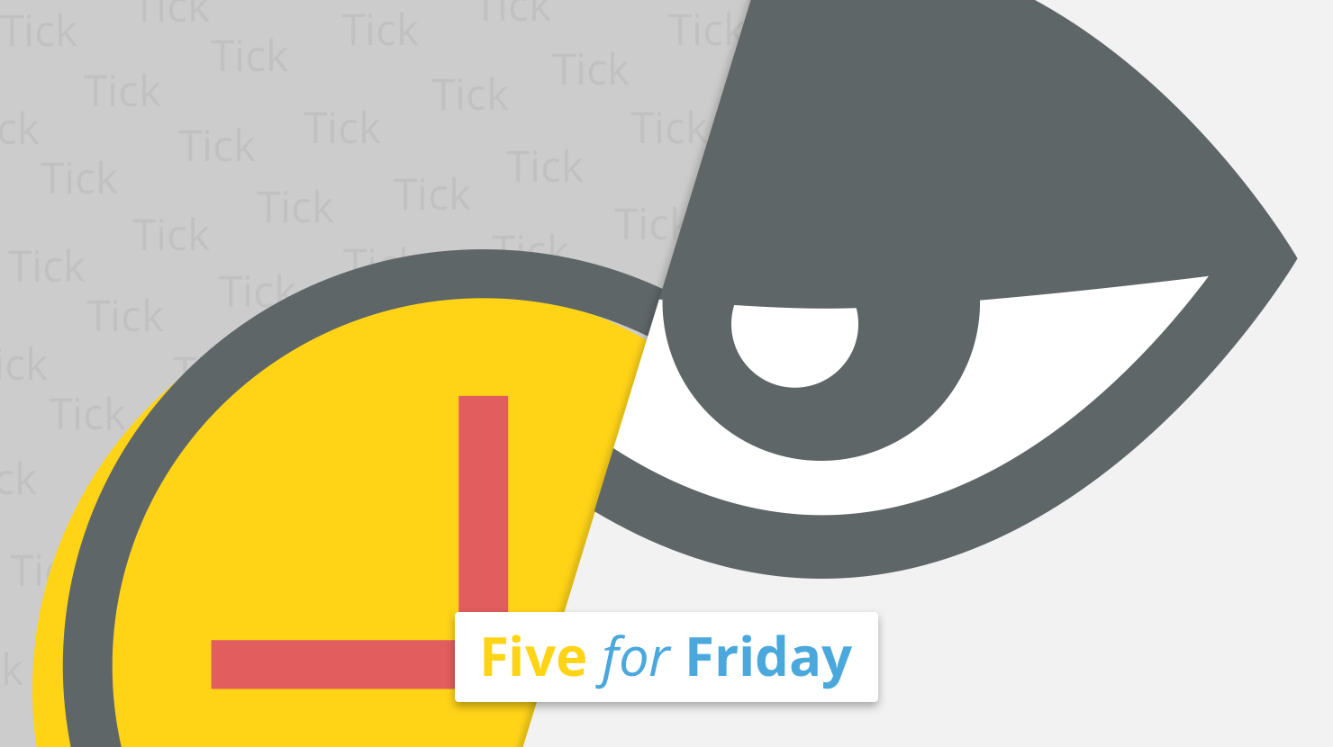 Five for Friday Post